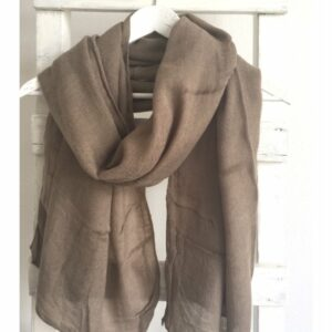 Basic Lovely Scarfs shawl, taupe