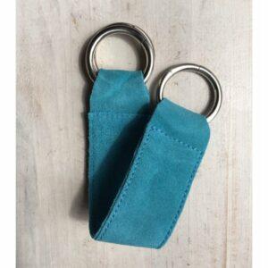 Shawl | Belt ceintuur, turquoise blauw