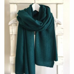 Basic Lovely Scarfs shawl, petrol