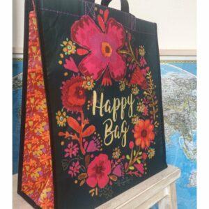 Tas Happy Bag large zwart