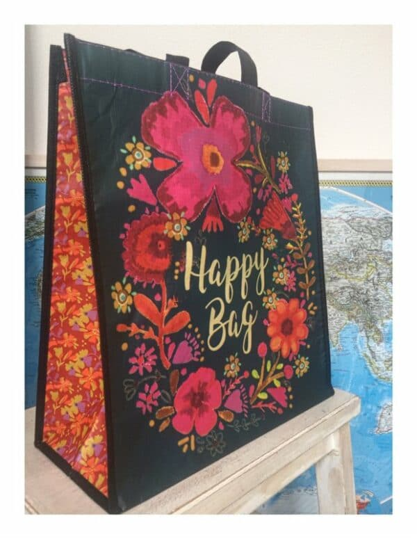 Tas Happy Bag large zwart