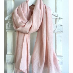 Basic Lovely Scarfs shawl, roze