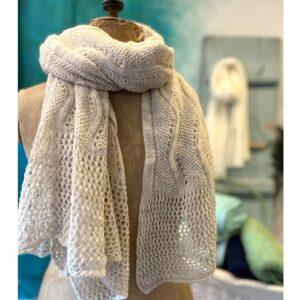 Otracosa zomer shawl vlinders, bloemen en vogels