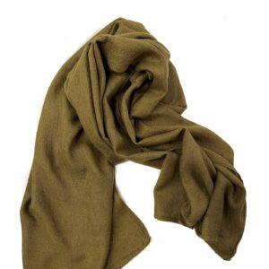 Driehoek shawl, rood
