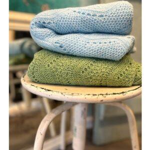Boho Bandeau haarband, zwart met kant
