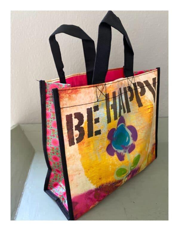 Gerecyclede tas be happy