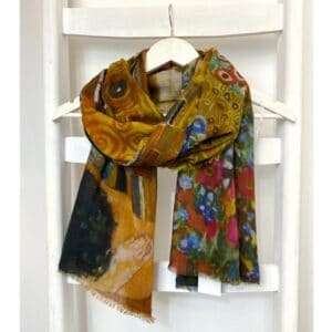 Zijden shawl, easy mix and match