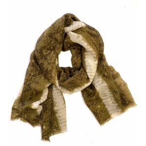 Dunne shawl van wol