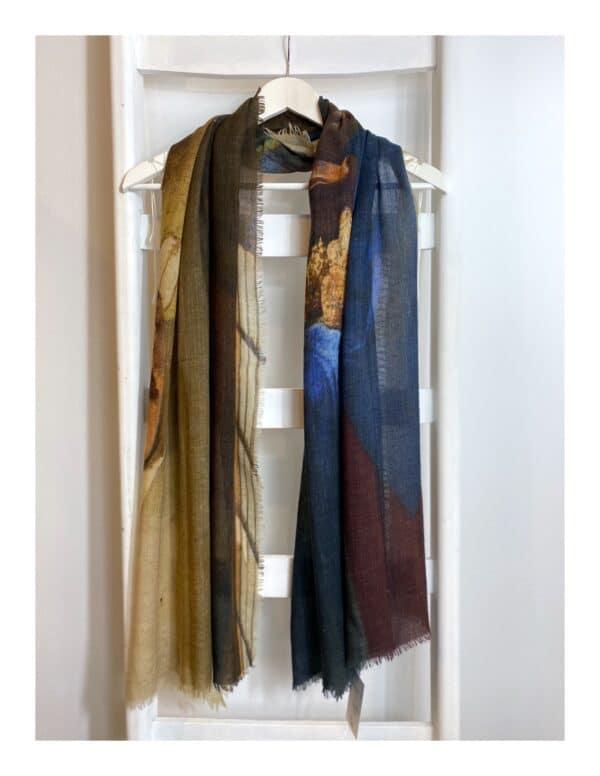 Otracosa schilderij shawl Vermeer