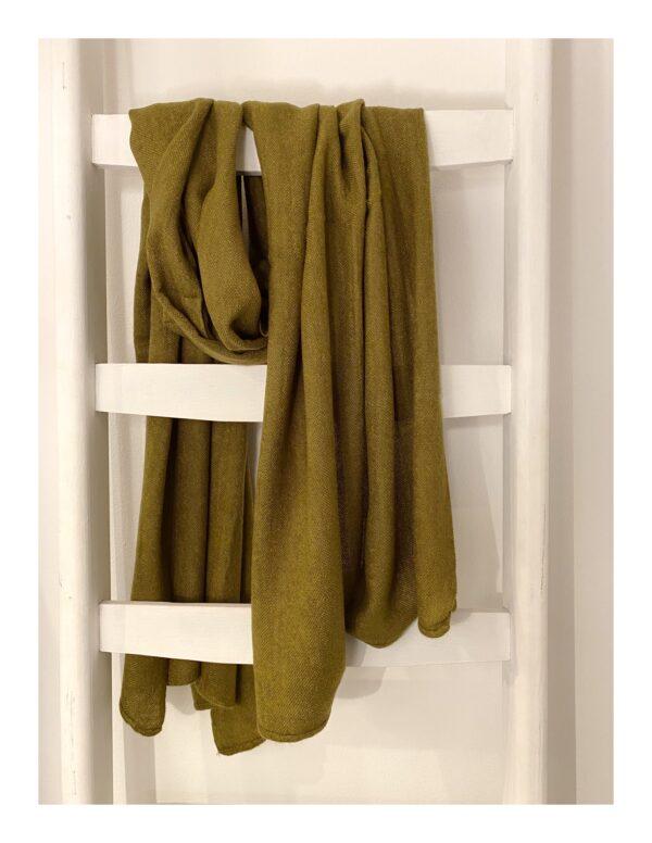 Basic Lovely Scarfs shawl, groen
