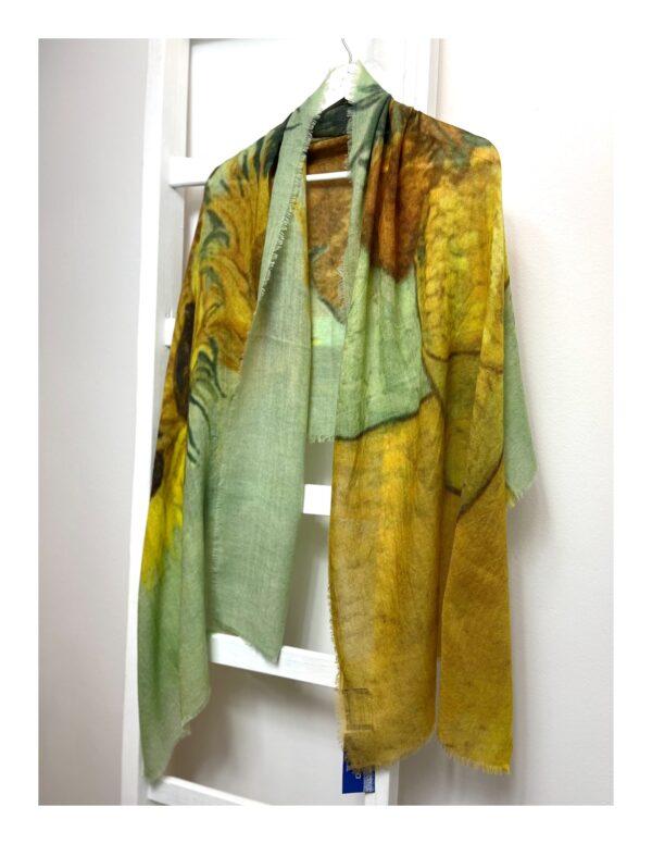 Basic Lovely Scarfs shawl, taupe