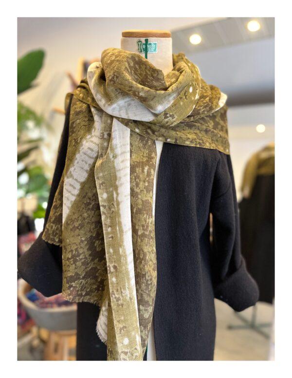 Royale shawl, beige