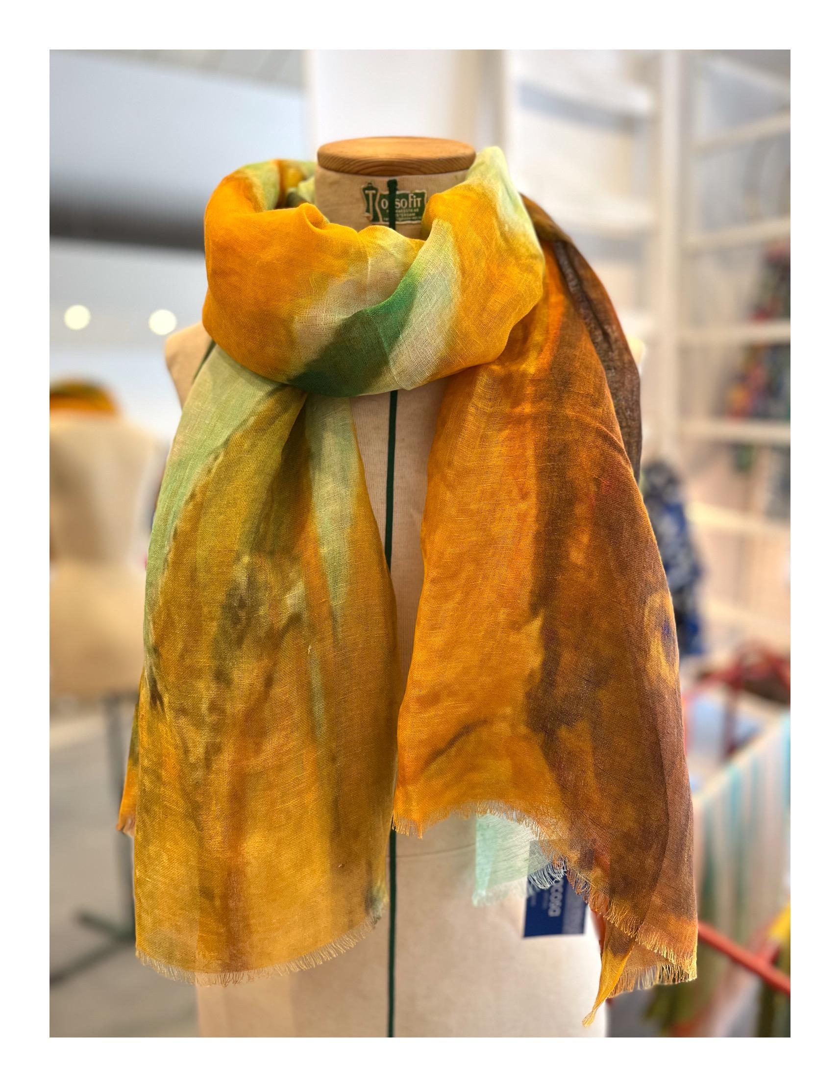 Patchwork bloemen shawl, katoen