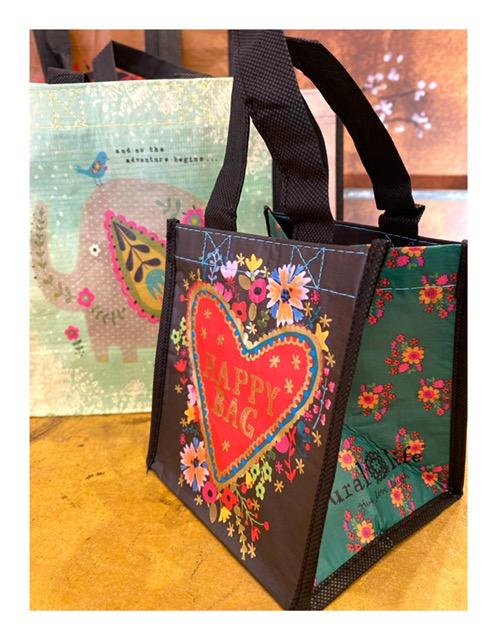 Tasje, recycled Happy Bag sweetheart