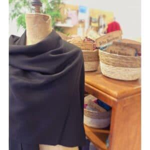 Stola | cape zwart