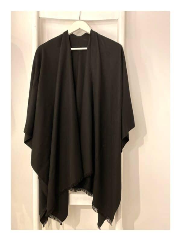 Stola   cape zwart