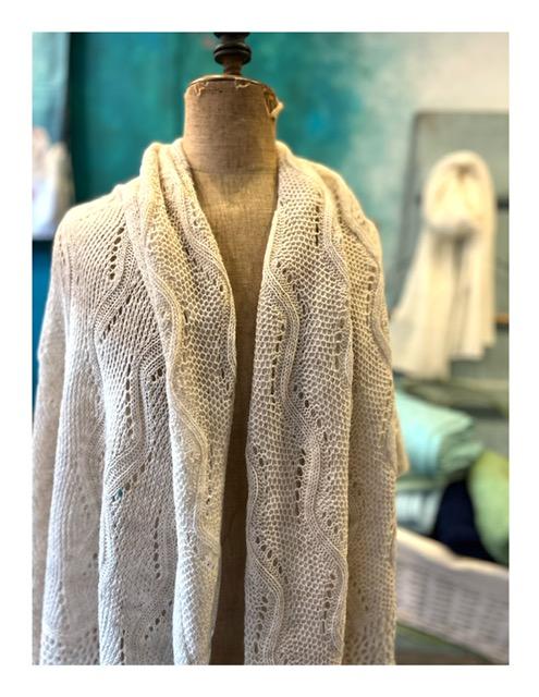 Rozen shawl, bordeaux| rose