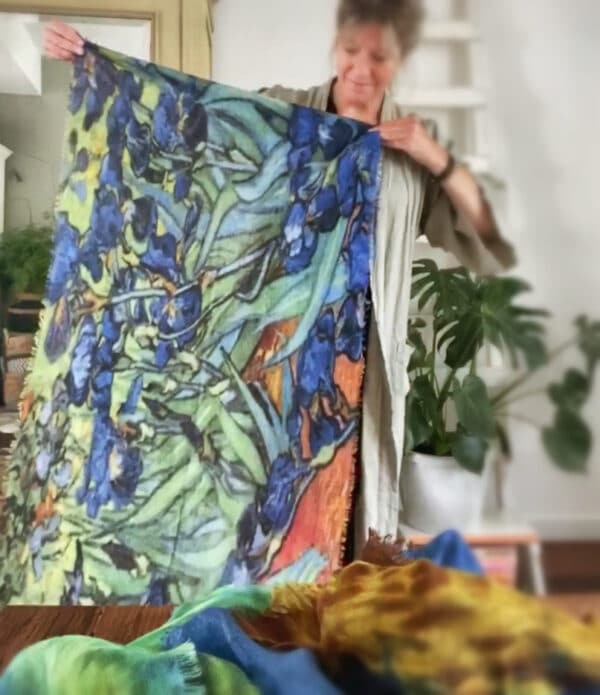 art shawl van Gogh