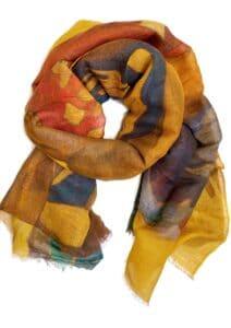 schilderij shawl Paul Gauguin