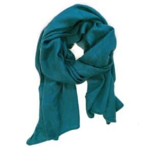 Lovely Scarfs basic shawl, blauw