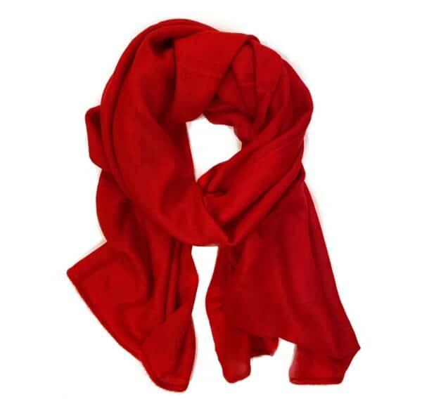 Basic Lovely Scarfs shawl, rood