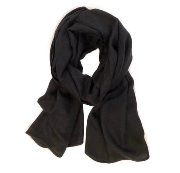 Basic Lovely Scarfs shawl, zwart