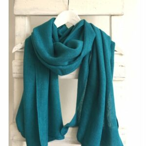 Basic Lovely Scarfs shawl, blauw