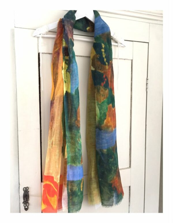 Lovely Scarfs schilderij shawl Gauguin