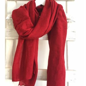 Basic Lovely Scarfs shawl, rood