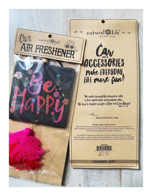 air freshener, be happy