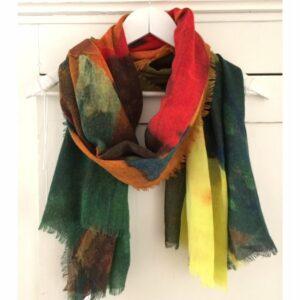 Otracosa shawl, Paul Gauguin Tahiti wol