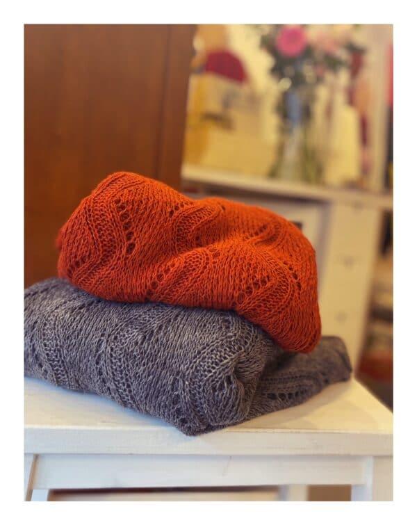 gebreide shawl