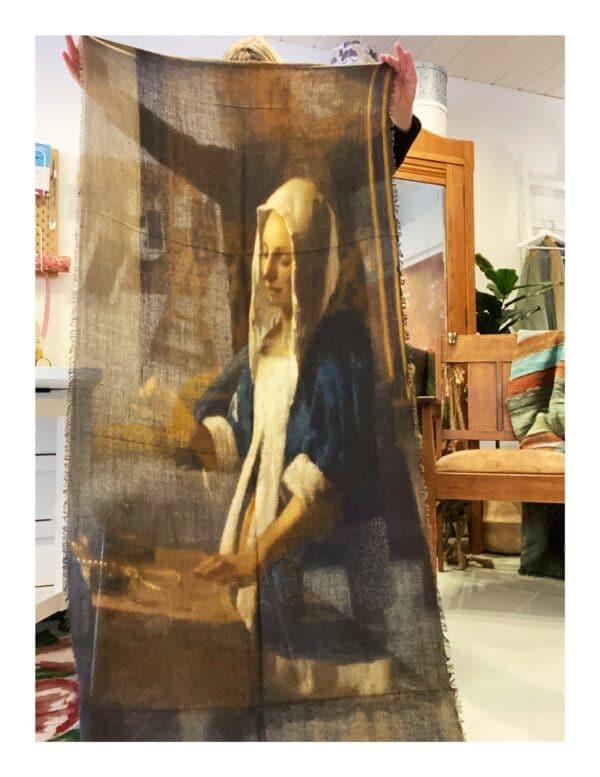 Otracosa art shawl, Vermeer