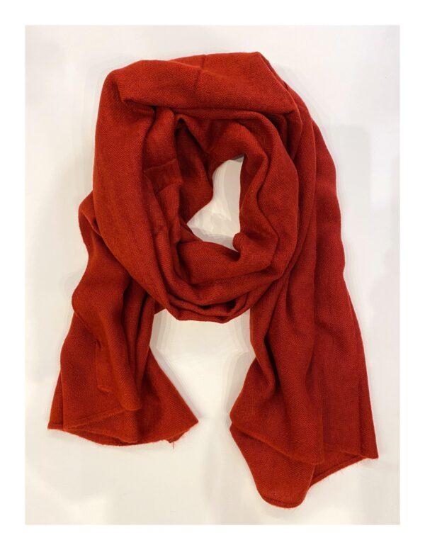 Basic Lovely Scarfs shawl, wijn rood