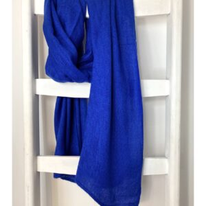 Basic Lovely Scarfs shawl, kobalt blauw