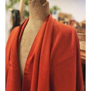Stola | cape warm oranje