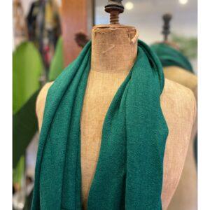 Lovely Scarfs basic shawl, jade