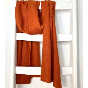 Basic Lovely Scarfs shawl, licht oranje