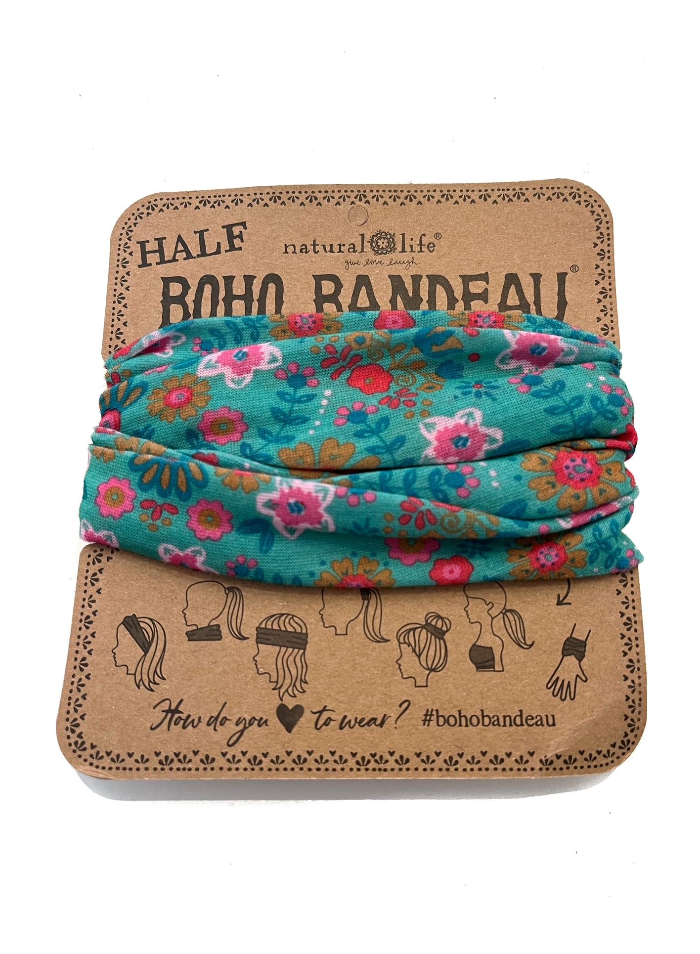 Summer cotton shawl, blauw en geel