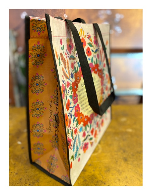 Tas, recycled, the giving bag