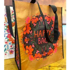 Gerecyclede tas, Happy Bag, goud