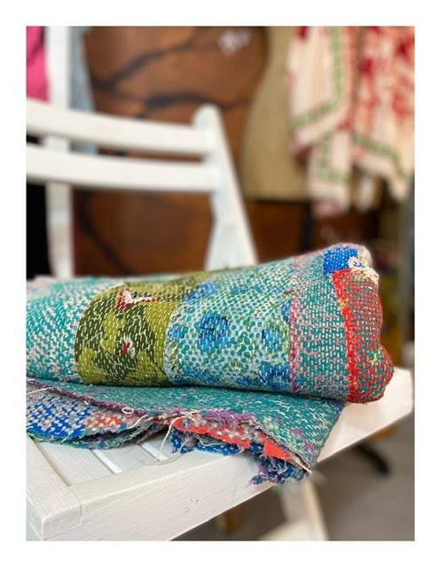 lovely scarfs kantha home plaids