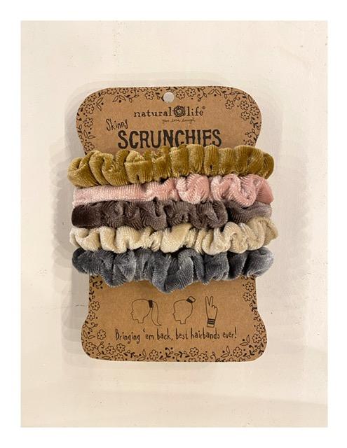 Natural Life scrunchies, pastel