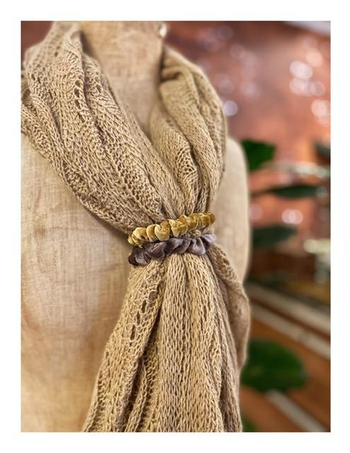 Natural Life scrunchies