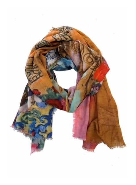 Schilderij shawl, Gustav Klimt